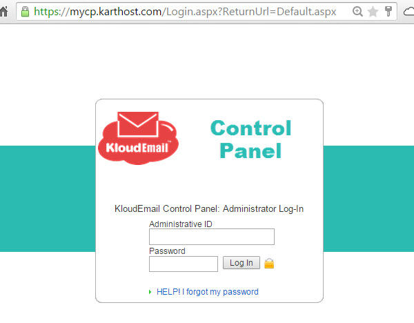 Adding a New Mailbox (User) to your KartHost KloudEmail Hosted Exchange account