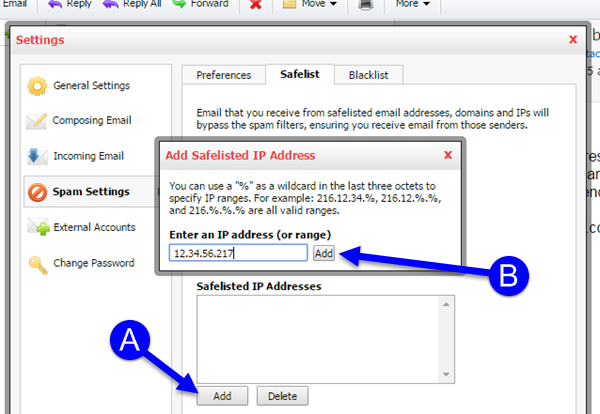 Adding an Email Address to KloudEmail using Professional Email Webmail Step 04