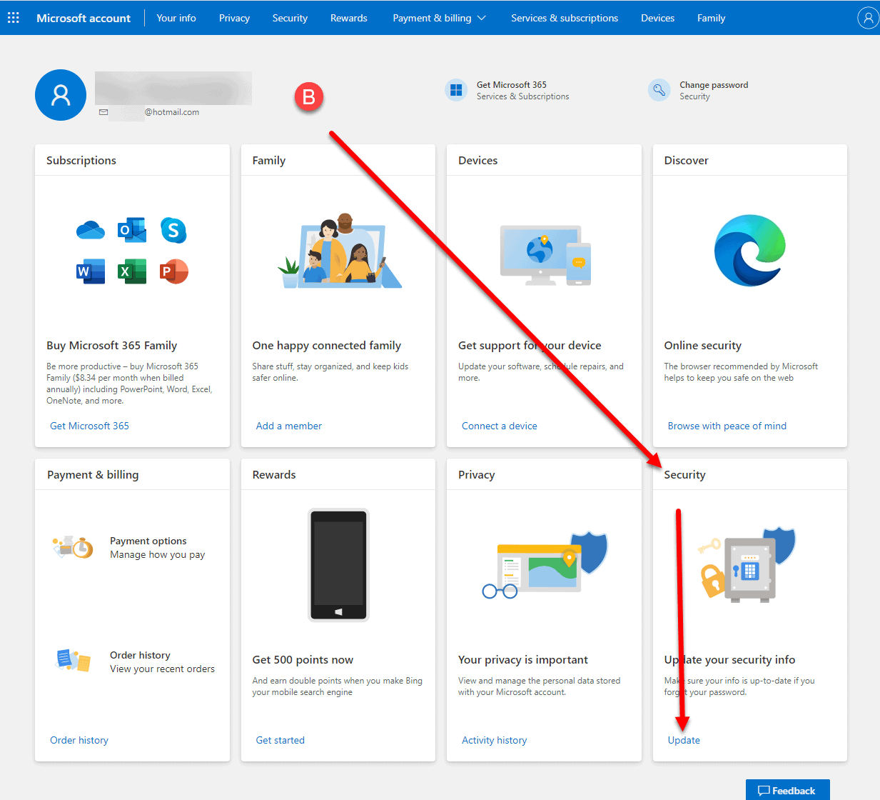 Outlook.com App Password Generation How To Step 2