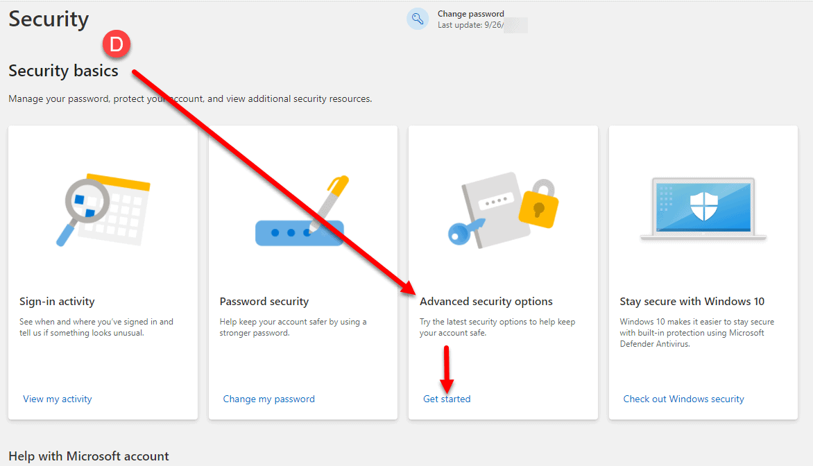Outlook.com App Password Generation How To Step 4