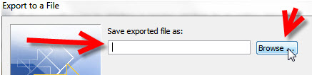 Step 8 Exporting your Outlook 2010 to KartHostKloud Mail