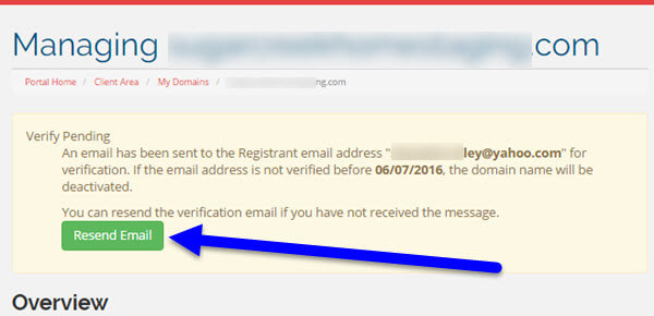 How to Resend the RAA Verification Email from KartHost Customer Center