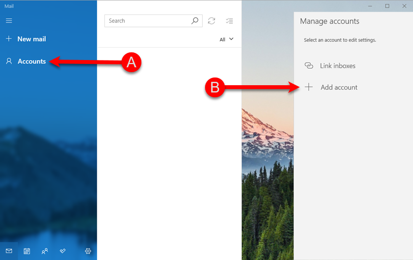 Adding KloudEmail Basic or Suite to Windows 10 Mail app Step 02