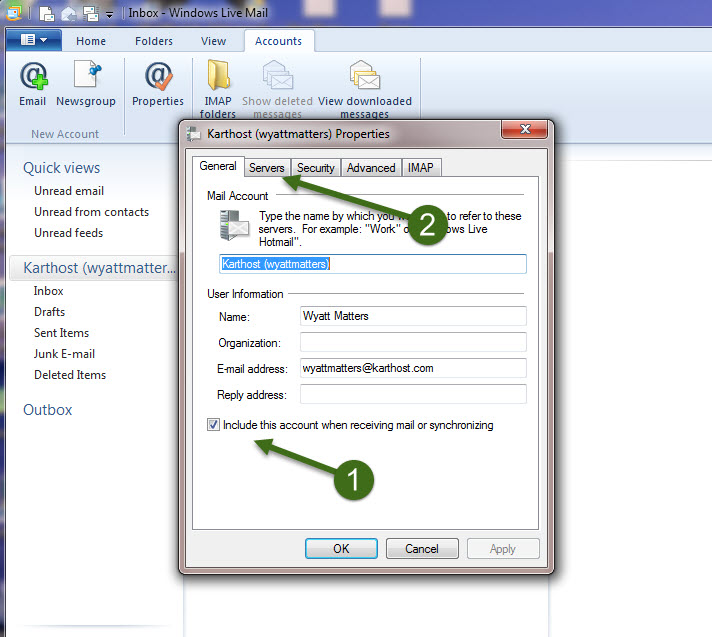 Windows And Android Free Downloads : Windows Live Mail Setup
