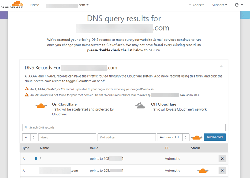 Cloudflare-Adding an Additional Domain Name to Cloudflare