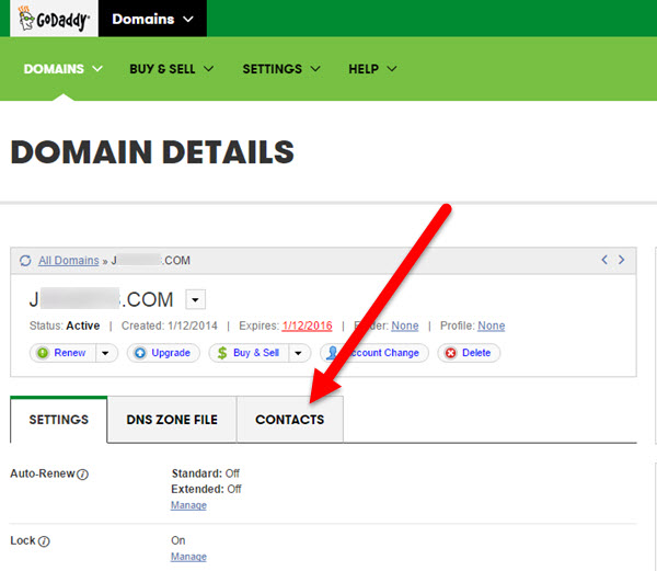 Transfering Your Domain Name from GoDaddy to KartHost Step 03