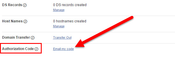 Transfering Your Domain Name from GoDaddy to KartHost Step 09