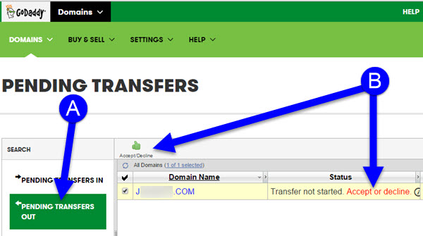 Transfering Your Domain Name from GoDaddy to KartHost Step 17